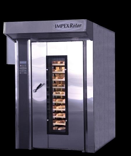 Хлебопекарная ротационная печь Impex Rotor газовая